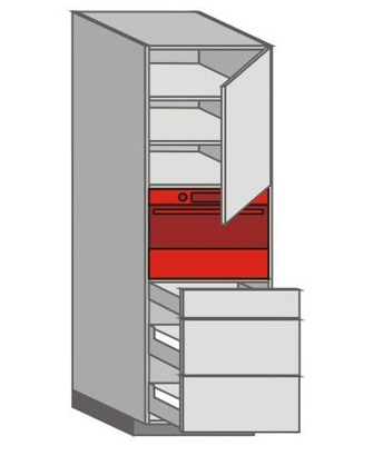 US_WZTC-RNZMM Tall Pantry/Appliance Cabinets