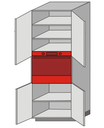US_WZT-ONO Tall Pantry/Appliance Cabinets