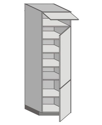 US_WZ-WFRR Tall Cabinet with Right Door
