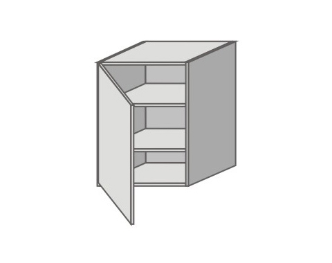 US_ GY-L Left Door Wall Cabinets
