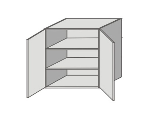 US_ GY-O Double Door Wall Cabinets