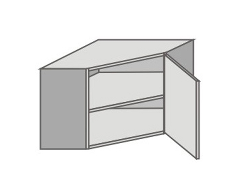 US_GTK70/R Right Door Wall Cabinets Corner