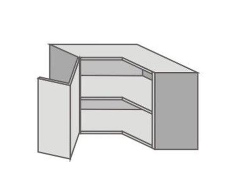 US_GTR-L Left Door Wall Cabinets Corner