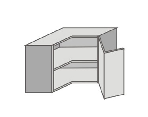 US_GTR70/R Right Door Wall Cabinets Corner