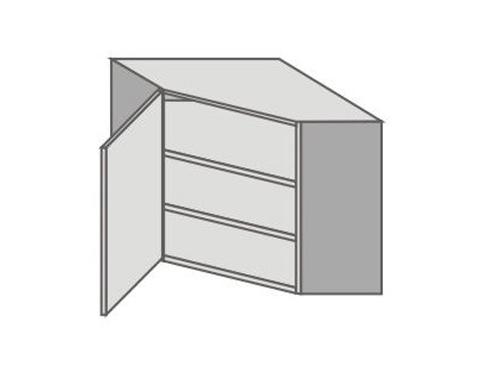 US_GUK70/L Left Door Wall Cabinets Corner