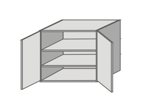 US_GV-O Double Door Wall Cabinets