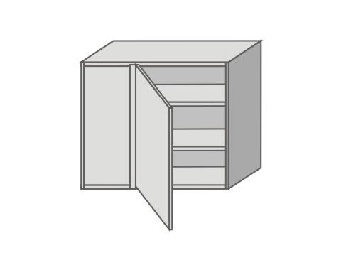 US_GXSR90/L Left Door Wall Cabinets Corner