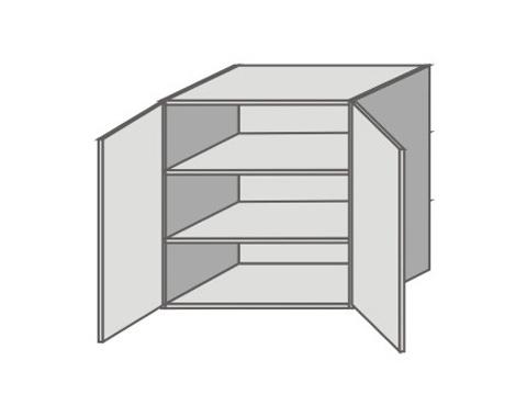 US_GX-O Double Door Wall Cabinets