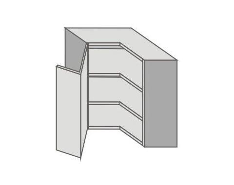 US_GYR70/L Left Door Wall Cabinets Corner
