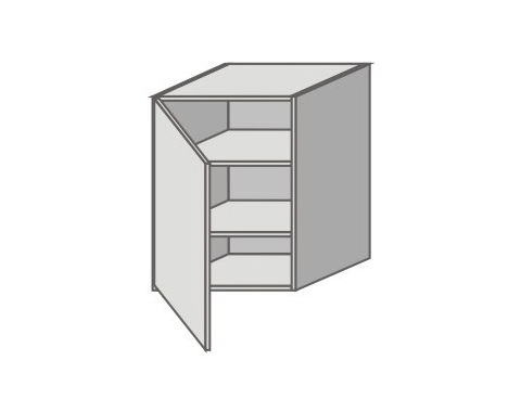 US_GY-L Left Door Wall Cabinets