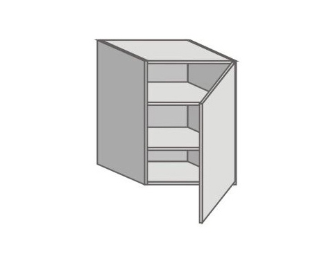 US_GY-R Right Door Wall Cabinets
