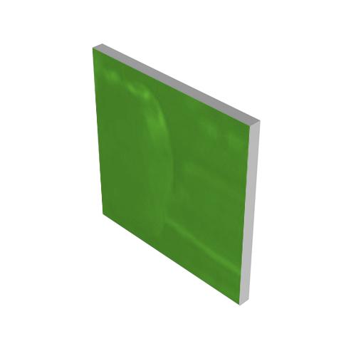 GREEN GLASS INSERT #1164