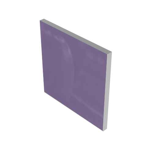 LILAC GLASS INSERT #1202