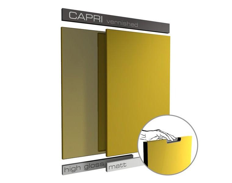Lacquered Capri Style