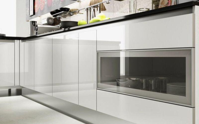Glass Front Kitchen - Lugo Style