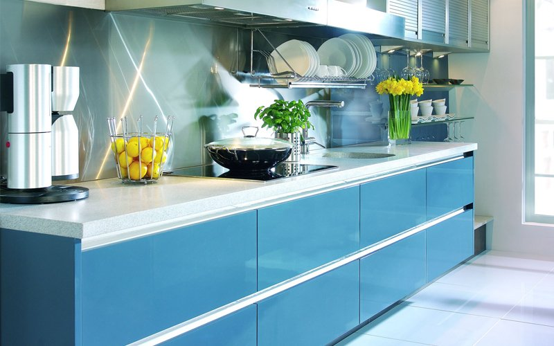 Lacquered Kitchen Finishes
