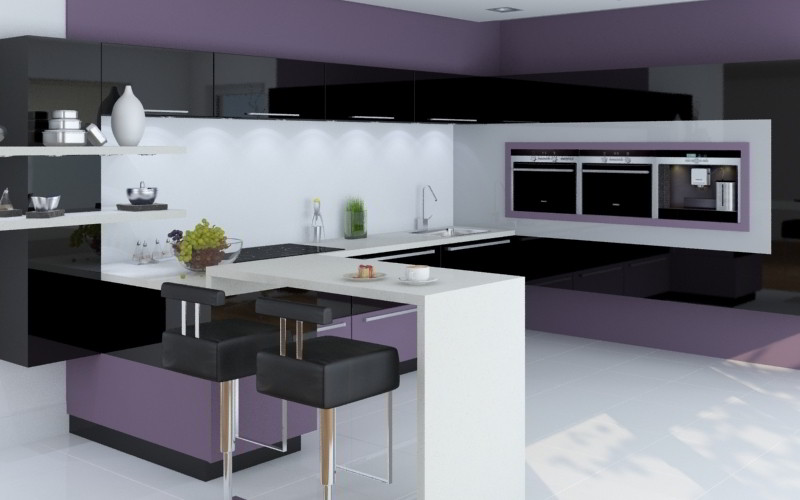 Lacquered Kitchen - Kassel Style