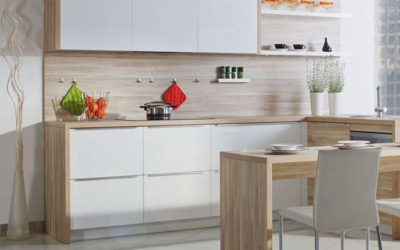 Snow White Thermofoil Kitchen