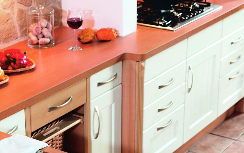 White Thermofoil Kitchen - Asti Style
