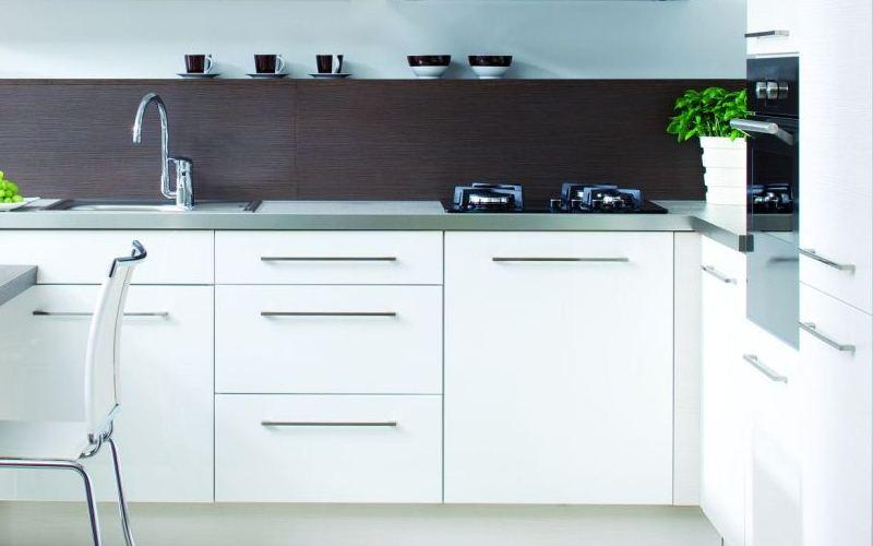 White Thermofused Kitchen