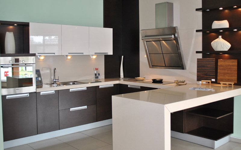 Kitchen Finishes - variety of finishes, styles, colors