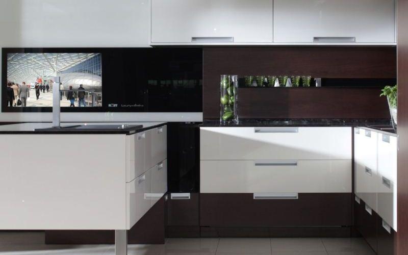 Wenge Veneer Kitchen