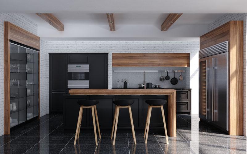 Rome kitchen style