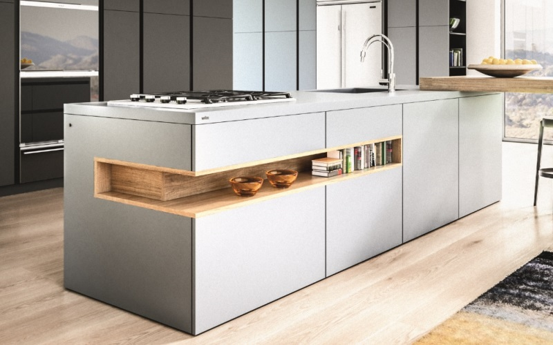 Lacquered KASSEL I-LINE kitchen style
